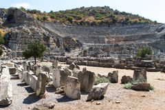 Ancient Ruins of Ephesus Stock Images