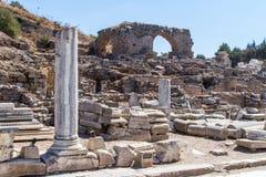 Ancient Ruins of Ephesus Royalty Free Stock Photos