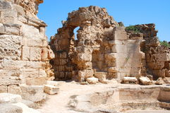 Ancient ruins in Famagusta, Cyprus Royalty Free Stock Photography