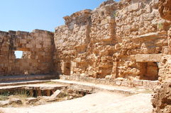 Ancient ruins in Famagusta, Cyprus Stock Photo