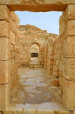 Ancient ruins. Fragment of the Avdat National Park, UNESCO World Heritage Sate. Israel Stock Photos