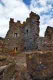 Ancient ruins. Fragment of Castle of Acquadda. Sardinia. Italy Stock Photography