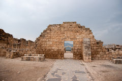 Ancient ruins in galilee Stock Photos
