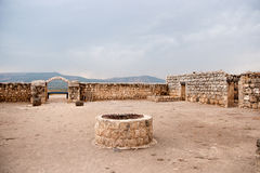 Ancient ruins in galilee Stock Images