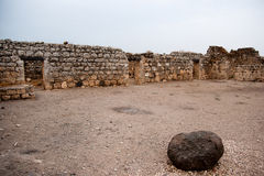 Ancient ruins in galilee Royalty Free Stock Photo