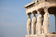Ancient ruins in Greece Royalty Free Stock Photos