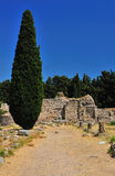 Ancient ruins in Greece Stock Photography