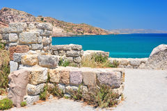 Ancient ruins in Greece. Ancient ruins on Kos island, Greece Royalty Free Stock Photography