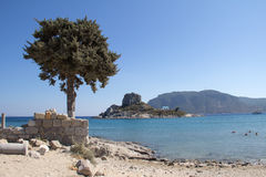 Ancient Ruins, Greece, Kos island Stock Images