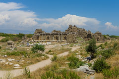 Ancient ruins. Stock Photos