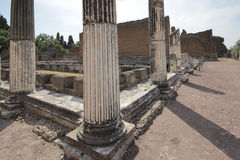 Ancient ruins of Hadrian's Villa Stock Images