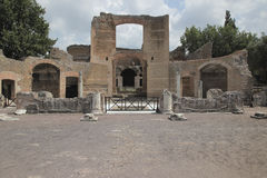 Ancient ruins of Hadrian's Villa Royalty Free Stock Images