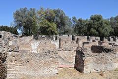 Ancient ruins of Hadrian's Villa Stock Photos
