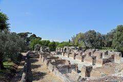 Ancient ruins of Hadrian's Villa Stock Photography