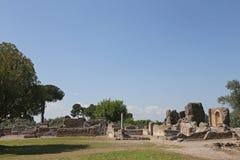 Ancient ruins of Hadrian's Villa Royalty Free Stock Image