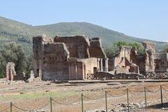 Ancient ruins of Hadrian's Villa Stock Image