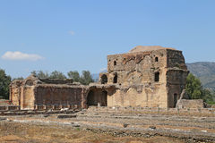 Ancient ruins of Hadrian's Villa Stock Photography