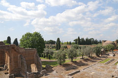 Ancient ruins of Hadrian's Villa Royalty Free Stock Images