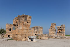 Ancient ruins Hierapolis. Turkey Stock Images