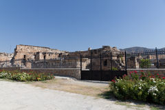 Ancient ruins Hierapolis. Turkey Stock Photos