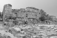 The ancient ruins of Hierapolis Royalty Free Stock Photos