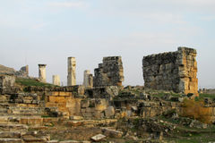 Ancient ruins of Hierapolis in Turkey Stock Image