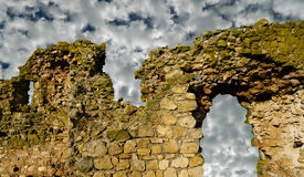 Ancient ruins -  Histoy concept Royalty Free Stock Image