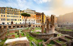 Ancient Ruins In Rome Stock Photos