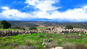 Ancient ruins in Israel Royalty Free Stock Photos