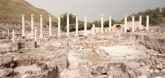Ancient ruins in Israel travel Royalty Free Stock Photo