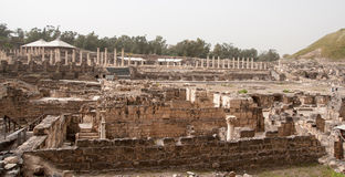 Ancient ruins in Israel travel Stock Photography