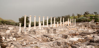 Ancient ruins in Israel travel Royalty Free Stock Photos