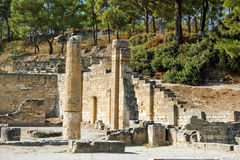Ancient ruins of Kamiros, Rhodes - Greece Stock Photography