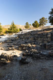 Ancient ruins of Kamiros - Rhodes Royalty Free Stock Image