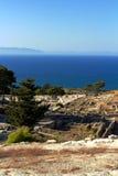 Ancient ruins of Kamiros - Rhodes Stock Photos