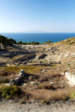 Ancient ruins of Kamiros - Rhodes Royalty Free Stock Photos