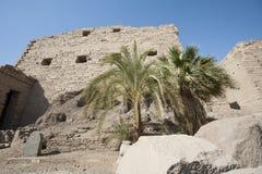 Ancient ruins at Karnak temple Stock Images