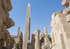 Ancient ruins at Karnak temple Royalty Free Stock Photo