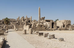 Ancient ruins at Karnak temple Stock Photography