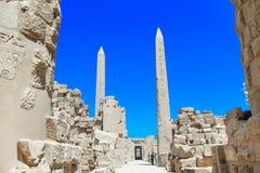 Ancient ruins of Karnak temple Stock Image