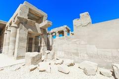 Ancient ruins of Karnak temple Stock Photo