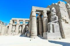 Ancient ruins of Karnak temple Stock Photos