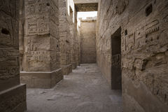 Ancient ruins of Karnak temple in Luxor. Egypt stock photos