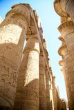 Ancient ruins of Karnak temple, Luxor, Egypt royalty free stock images