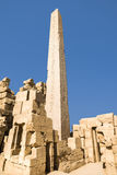 Ancient ruins of Karnak temple, Luxor, Egypt Stock Images
