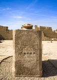 Ancient ruins of Karnak temple, Luxor, Egypt Royalty Free Stock Photography