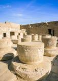 Ancient ruins of Karnak temple, Luxor, Egypt Stock Photo