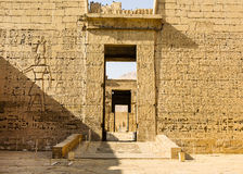Ancient ruins of Karnak temple, Luxor, Egypt Royalty Free Stock Photo