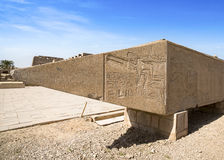 Ancient ruins of Karnak temple, Luxor, Egypt Royalty Free Stock Image