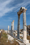 The ancient ruins in Knidos Royalty Free Stock Images